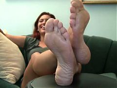 She is gorgeous nice feet
