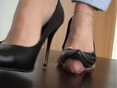Ball and dick trample