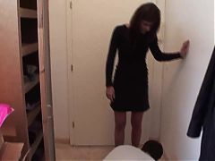 24-7 home slave get foot dominated by sadistic cindy